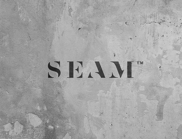 Logotype designed by For Brands for fashion brand Seam