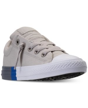 d06b4b4f6692 Converse Little Boys  Chuck Taylor All Star Street Mid Casual Sneakers from Finish  Line -