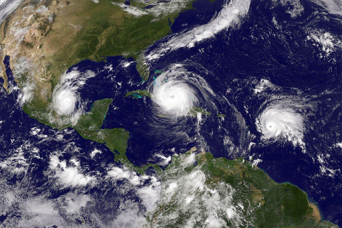 Three Hurricane Storms Of 2017 Irma Juan Atlantic Hurricane Hurricane Season Summer Extreme