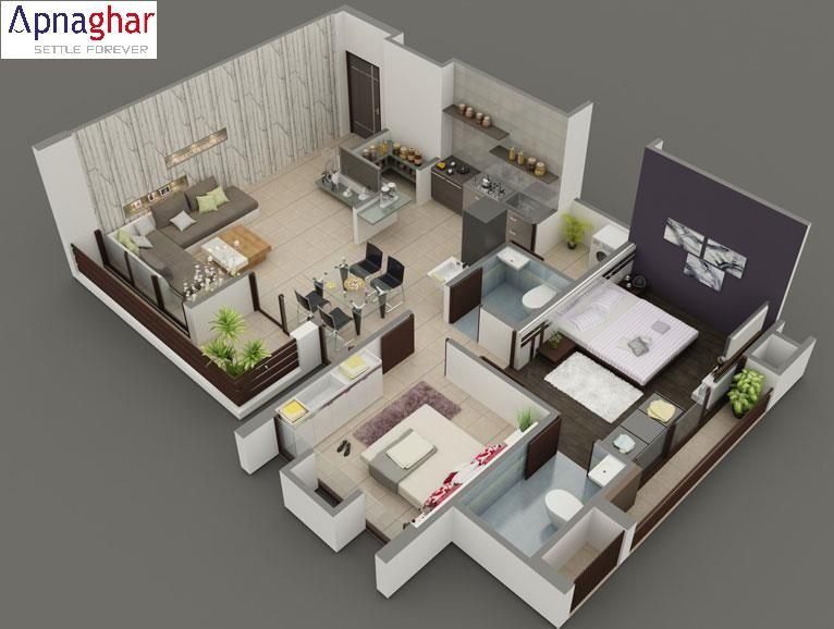 3D Floor Plans, 3D House Design, 3D House Plan, Customized 3D Home