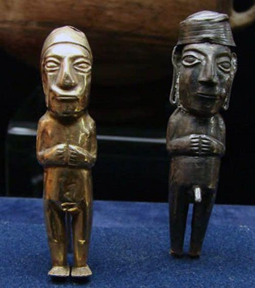 Relics of ancient Incas of Peru - Inca Statues | Antiques ...