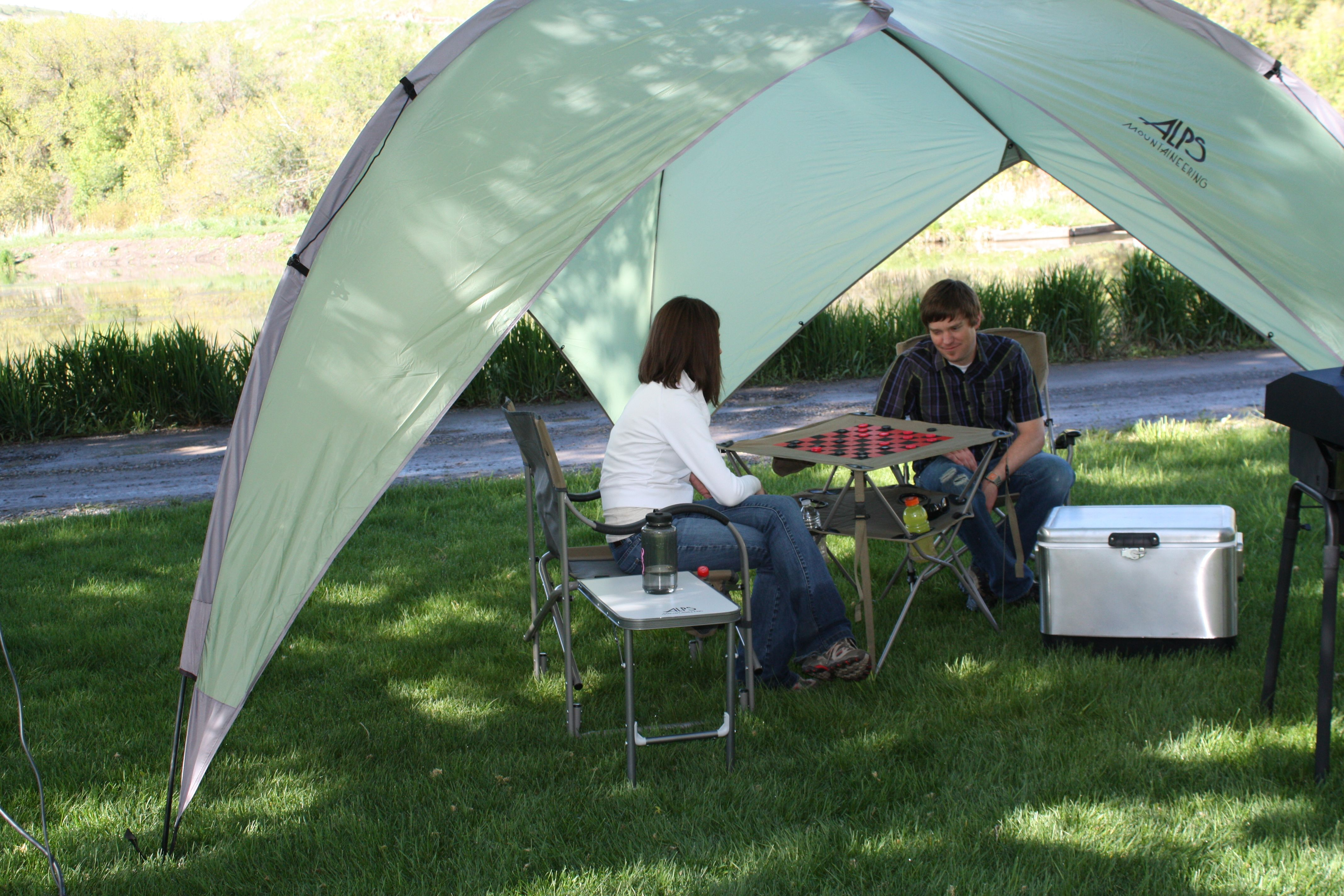 Alps Mountaineering Adventure Chair Copper Dining Chairs Tri Awning Great For Family