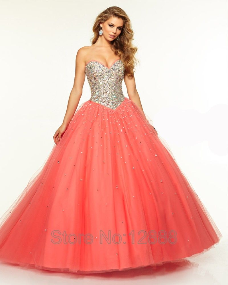 9e7ef98ca2 Long Navy Blue Prom Dress Tulle 2016 Sweetheart Ball Gown Prom Dresses Plum  Coral Sparkly Evening Dress Corset robe de soiree