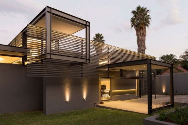 Creative renovation gives modern life to an existing frame