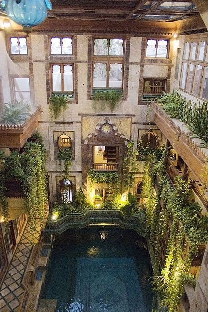 Pool In Sami Angawi House In Jeddah Saudi Arabia Architecture Beautiful Architecture House
