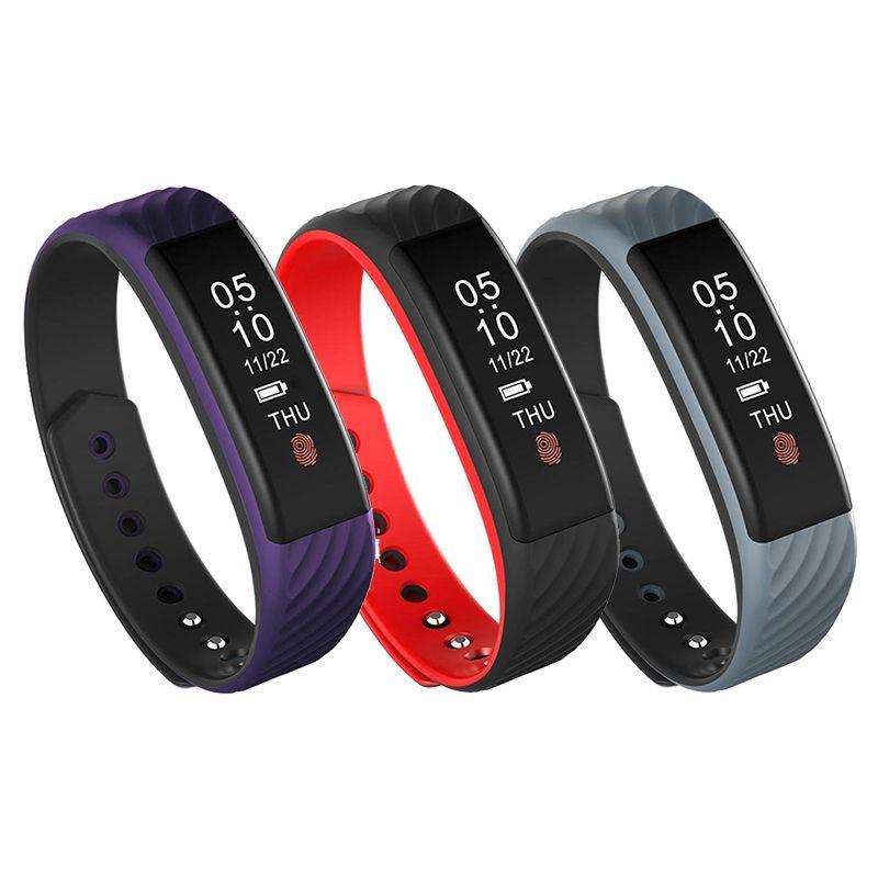 Bakeey W8 0.84 inch Heart Rate Monitor Fitness Sleep