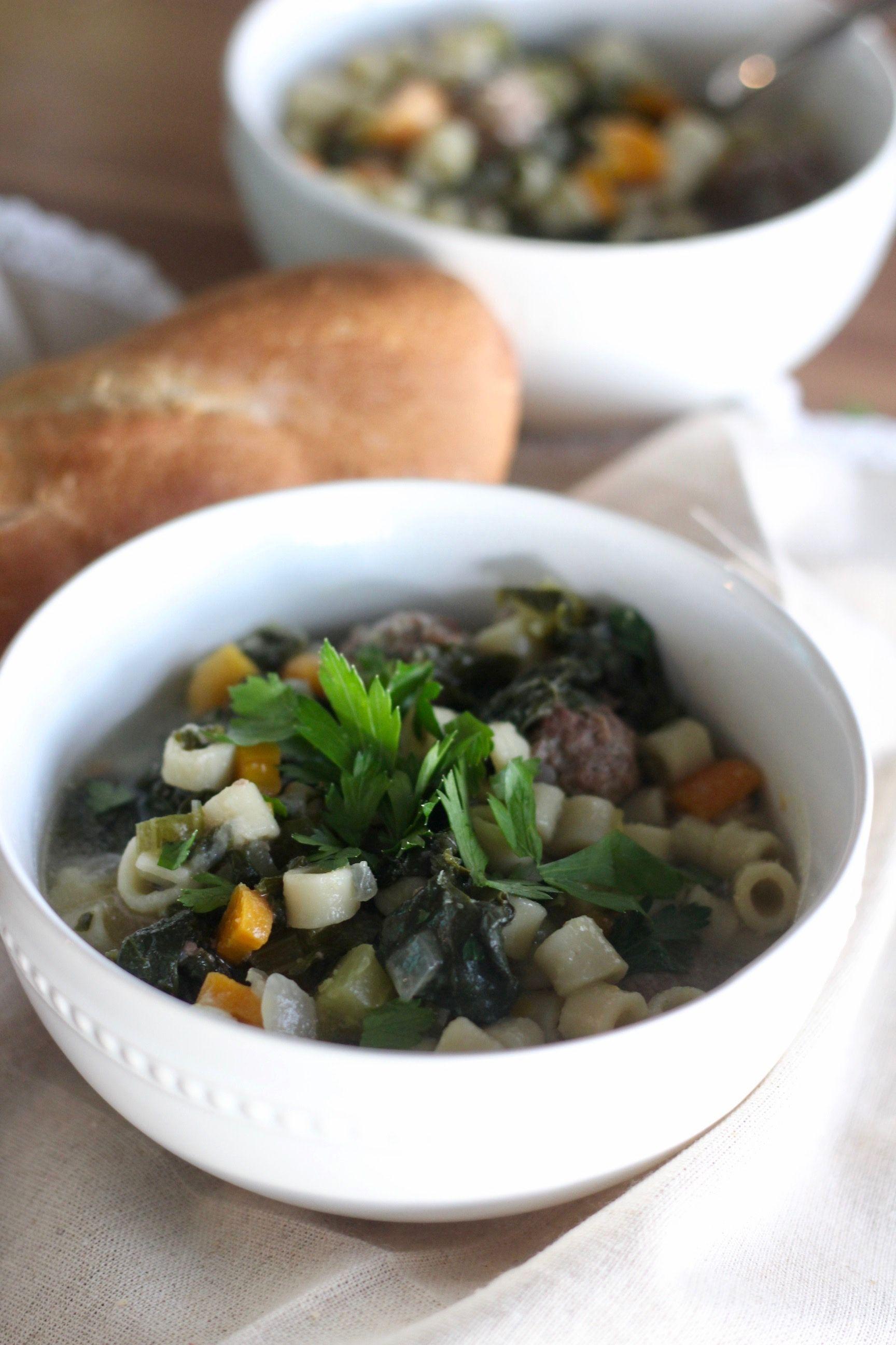 Italian Wedding Soup | Recipe | Italian wedding soup