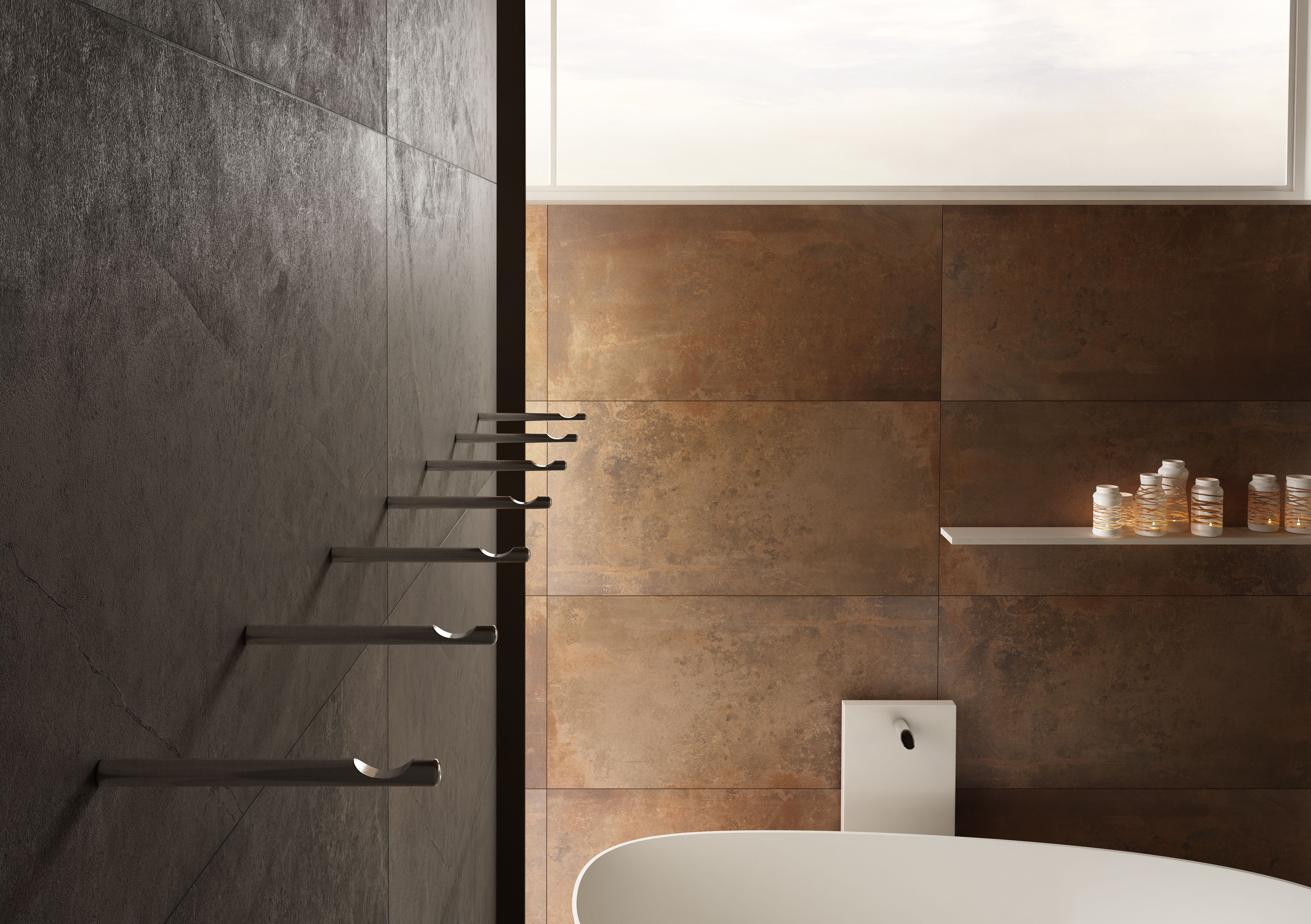 Lamiera T 600x600 Porcelain Tile Collection With A True Character