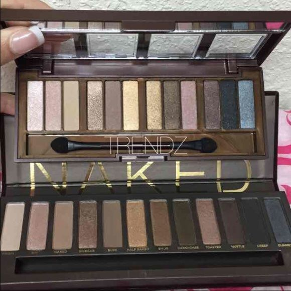 Barely Exposed eye shadow palette New!!! Yours will be sealed.   Barely Exposed eye shadow palette By City color  Compared to UD naked palette  Dare to bare your natural beauty with our new Barely Exposed eye shadow palette. Nudes, coppers, browns and greys never made your eyes look so good! With these 12 smooth seductive hues you can create an array of matte and shimmer eye looks for both day and night. Makeup Eyeshadow