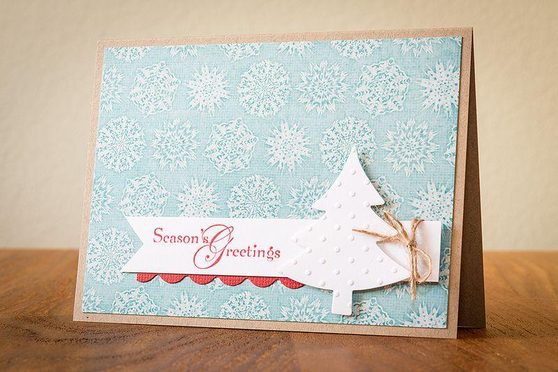 Season's Greetings with Stampin' Up | by Silke Shimazu