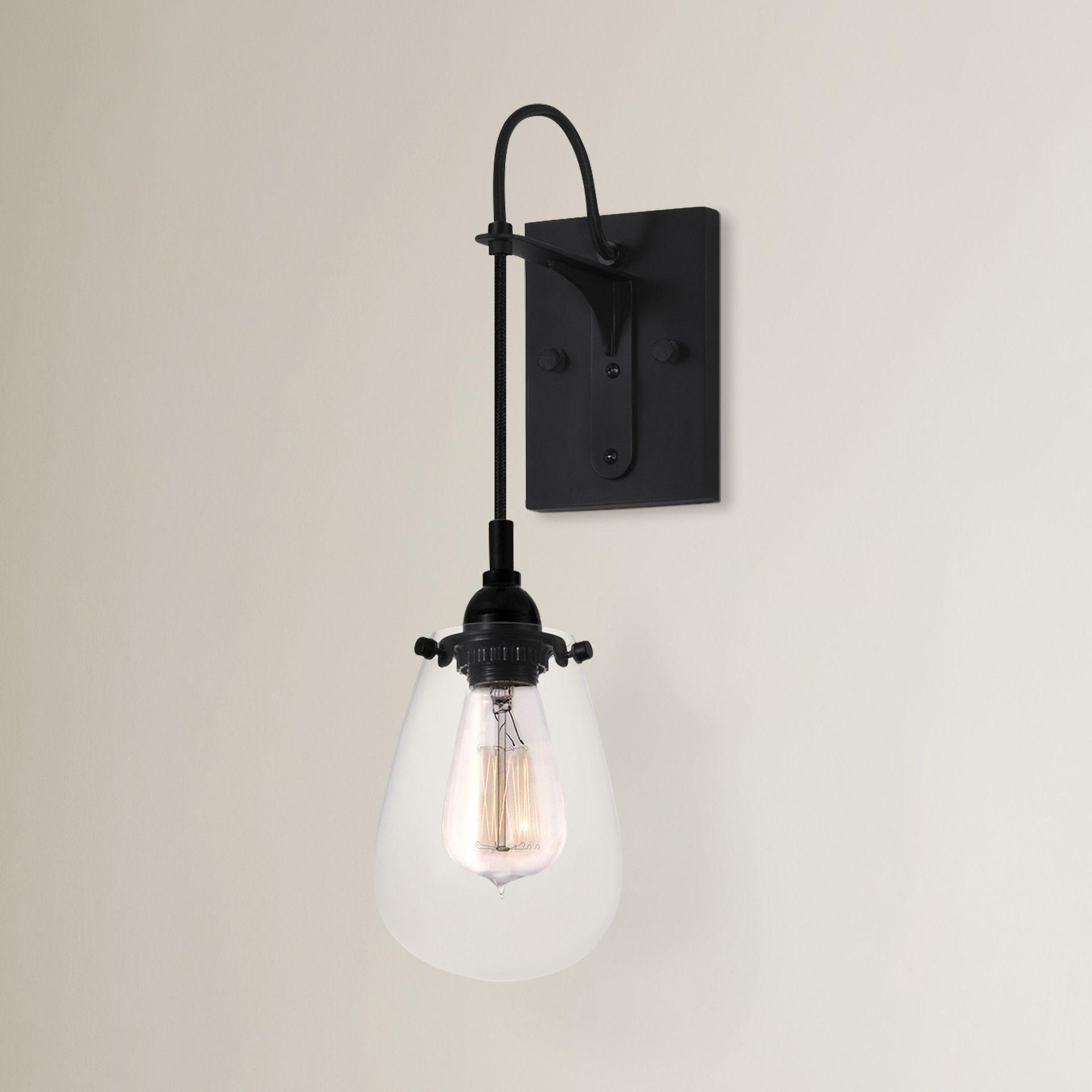 Trent austin design lamson light wall sconce lighting kitchen