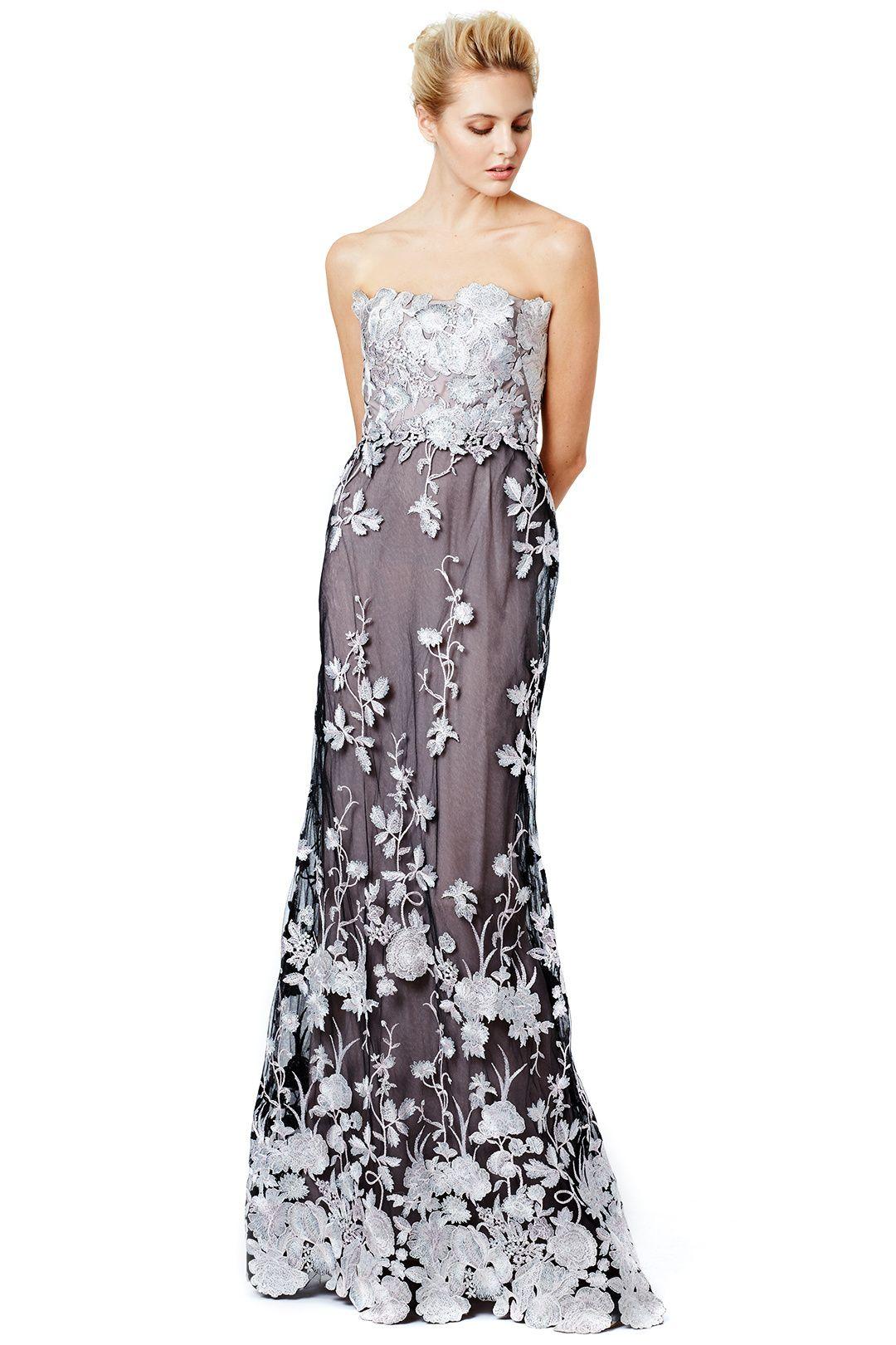 Marchesa Notte Fontaine Gown Gowns Dresses Fancy Dress Accessories