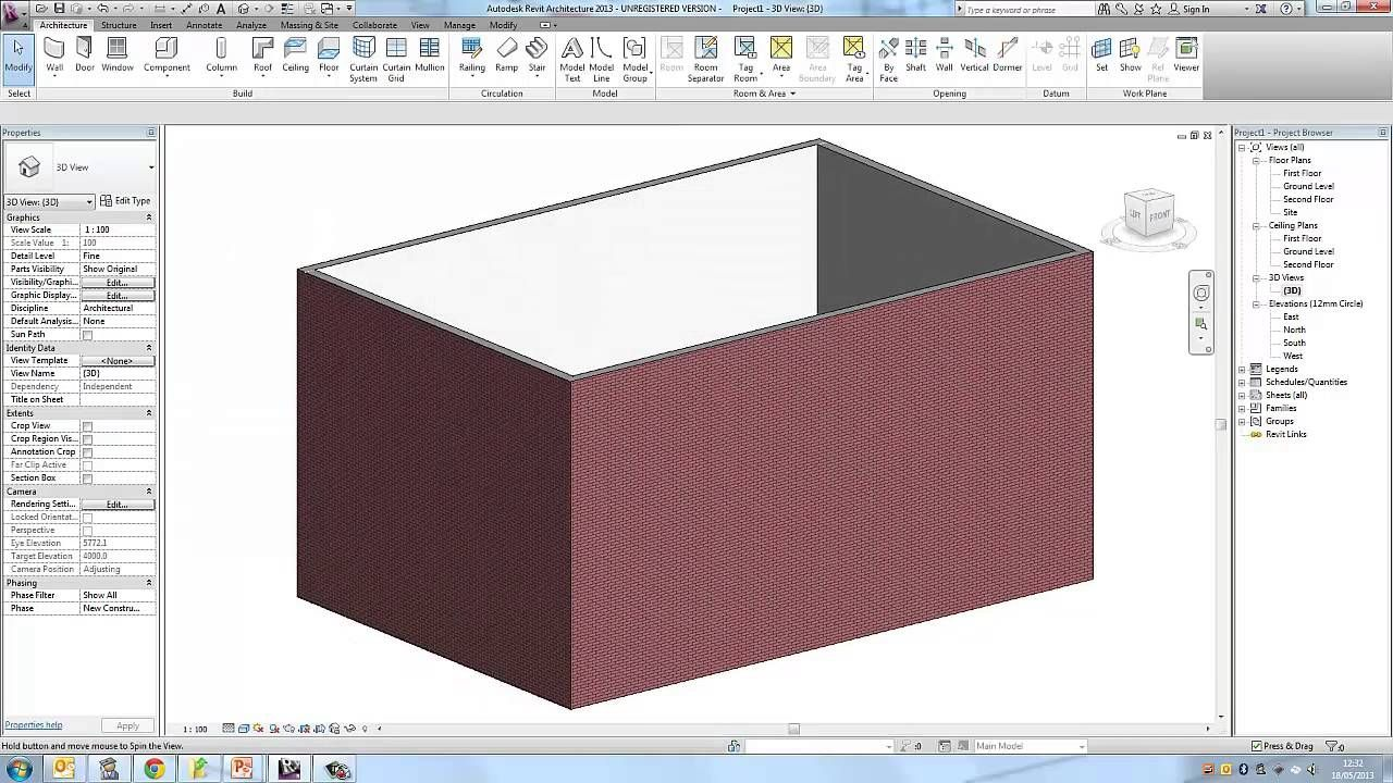 Autodesk Revit Beginner Tutorial Part 2 Floor Plan Autodesk Revit How To Plan Architecture Details