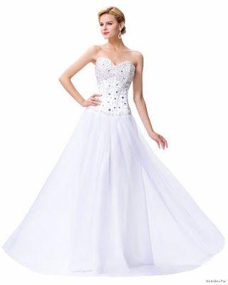 Vestidos De Xv Blancos Vestidos Vestidos Und Blanco