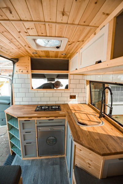 Photo 7 of 10 in Pro Van Converters Share Their Design Appro...- Photo 7 of 10 in Pro Van Converters Share Their Design Approach—and…  Photo 7 of 10 in Pro Van Converters Share Their Design Approach—and #Vanlife Tips for DIYers – Dwell  -#CampingTipsandtricks #CampingTipsforsleeping #CampingTipshacks #CampingTipspacking #CampingTipswithkids