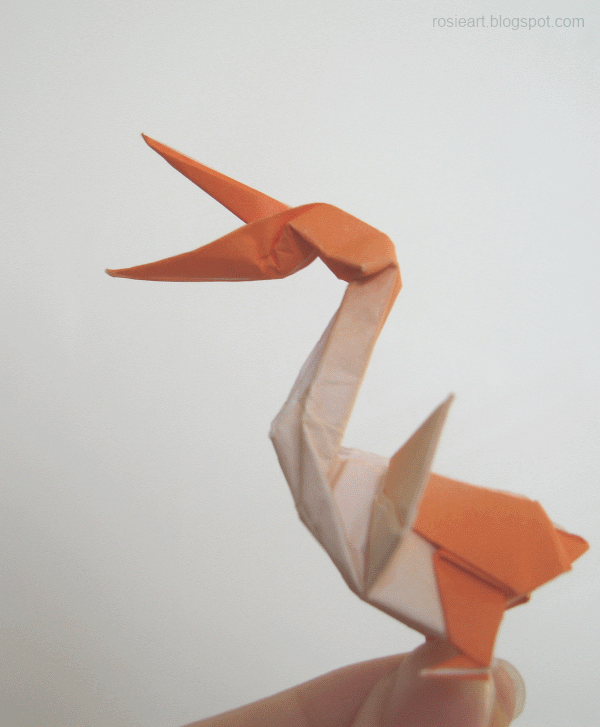 Origami Pelican Miscellaneous Pelicans Pinterest Origami