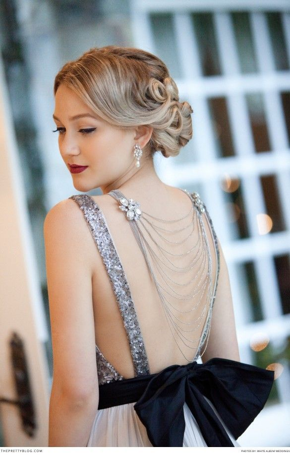 Bold Bridal Luxury – Old Hollywood Darling! | Bald hairstyles ...