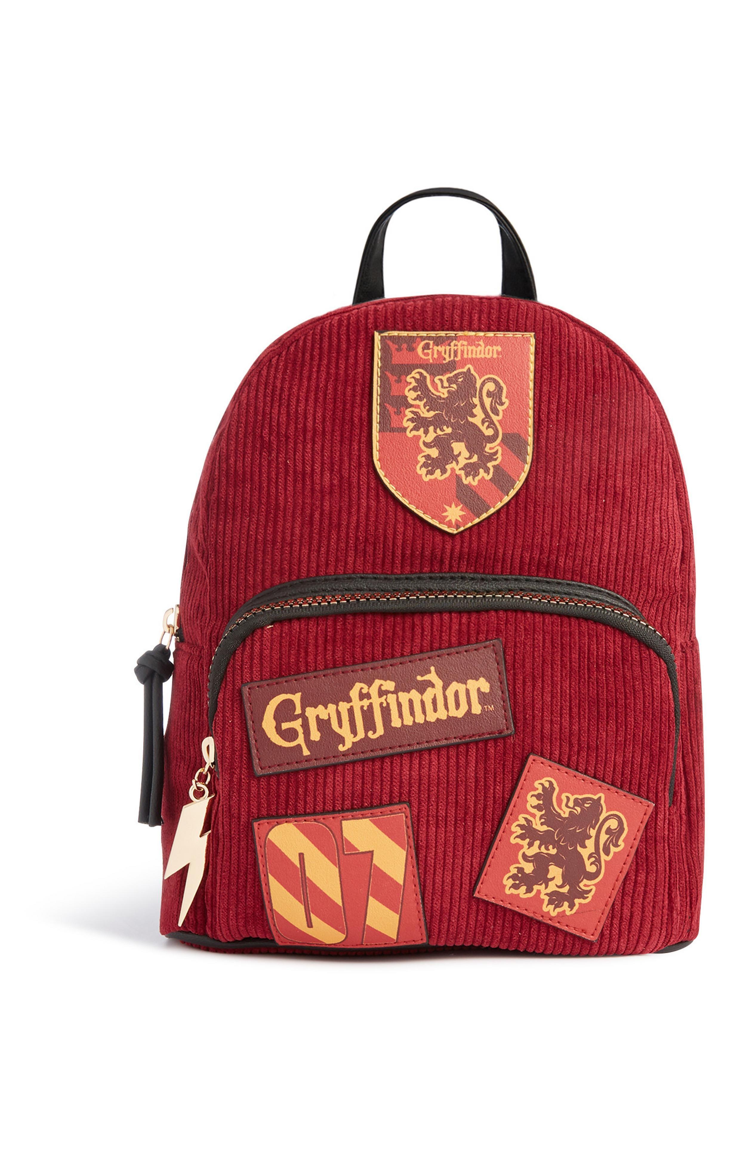 Gryffindor Slytherin Hufflepuff Ravenclaw Harry Potter Cord Backpacks