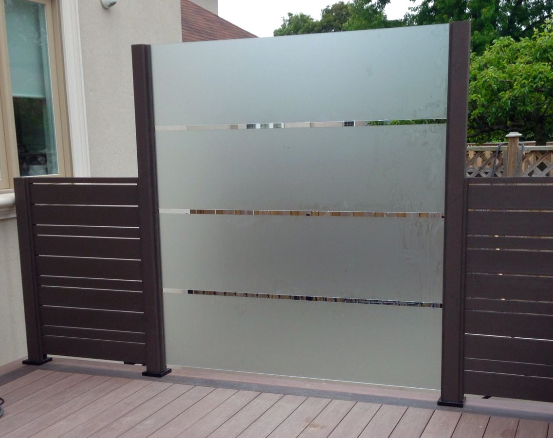 Deckstore Ca Custom Frosted Glass Privacy Screen Privacy
