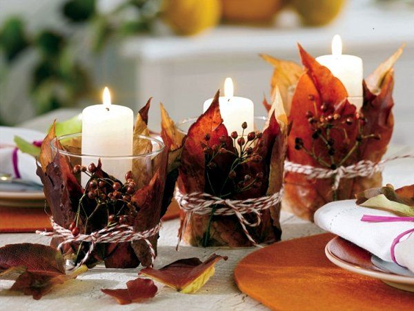 Photo of 16 great ideas to enter the fall colors in your home – decoration de