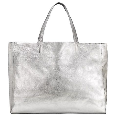 Buy Collection WEEKEND by John Lewis Morgan Raw Edge Leather Tote Bag  Online at johnlewis. 77b54190b