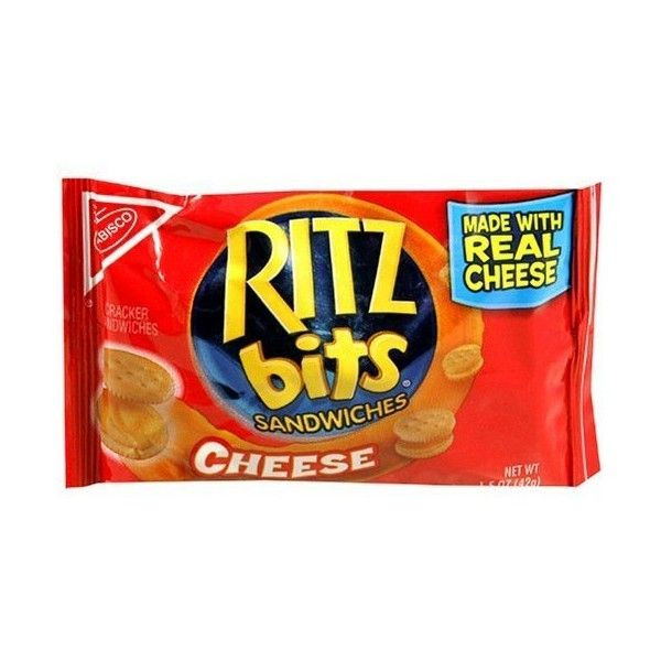 Ritz Bits Sandwich Cheese Single Serve, 1-oz Bags (Pack of 48) (370 VEF) ❤ liked on Polyvore featuring home, kitchen & dining and serveware