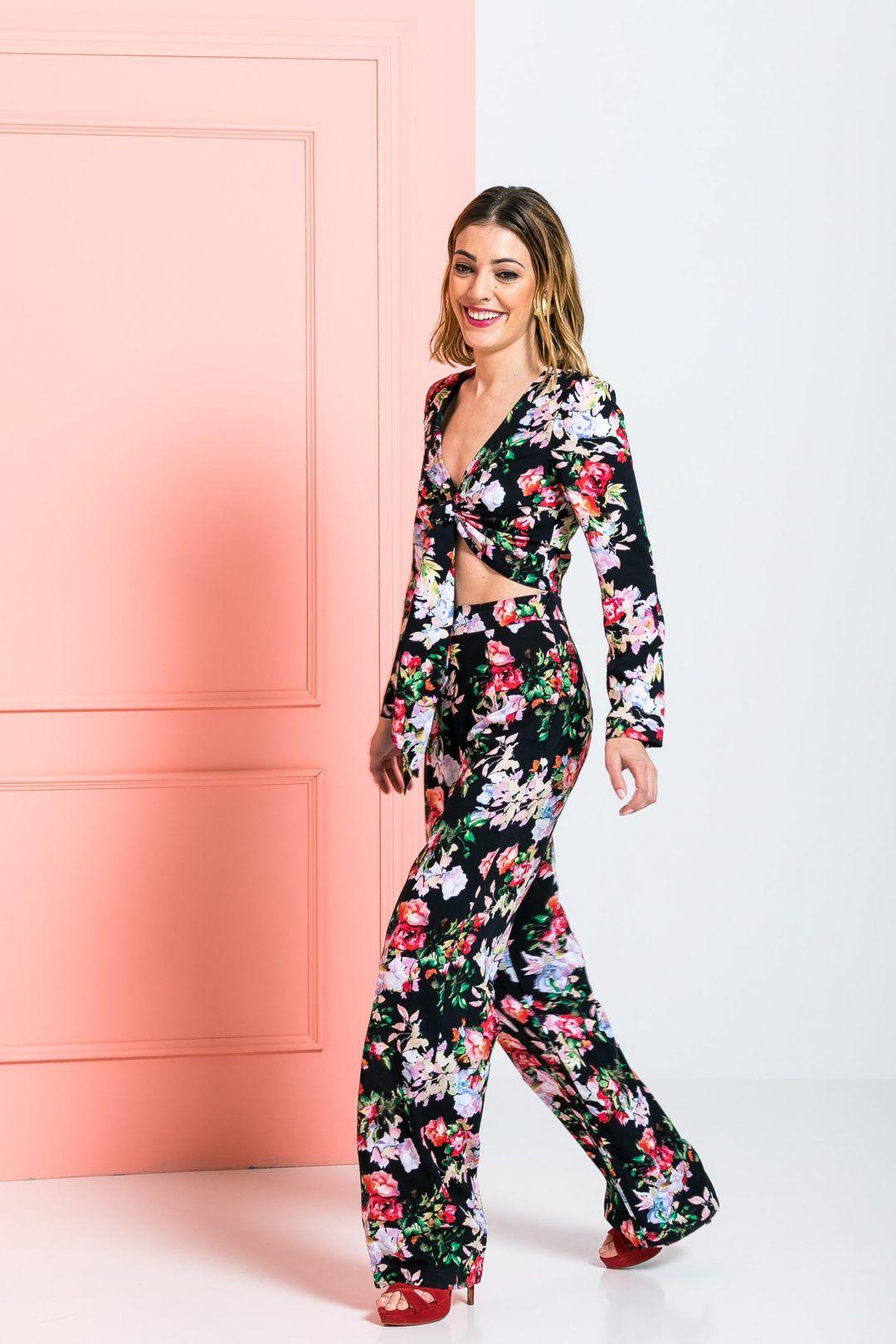 Conjunto pantalón palazzo y camisa | Pinterest | Vestidos invitada ...