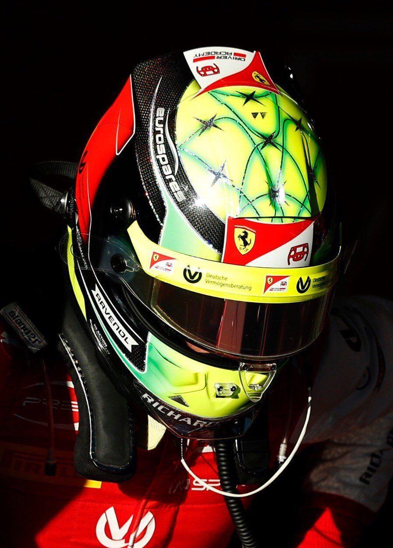 Jens Munser Designs On Racing Helmets Michael Schumacher
