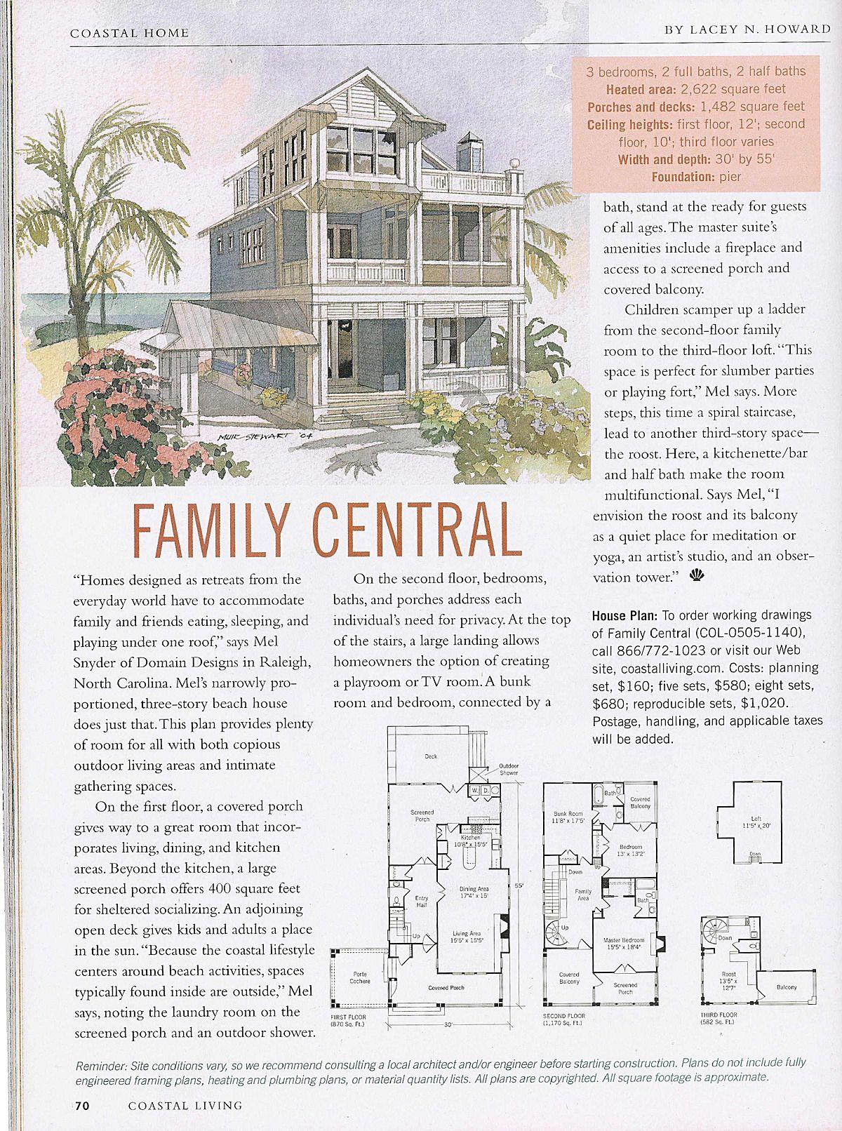 COASTAL HOME DESIGN | Mel Snyder | Archinect