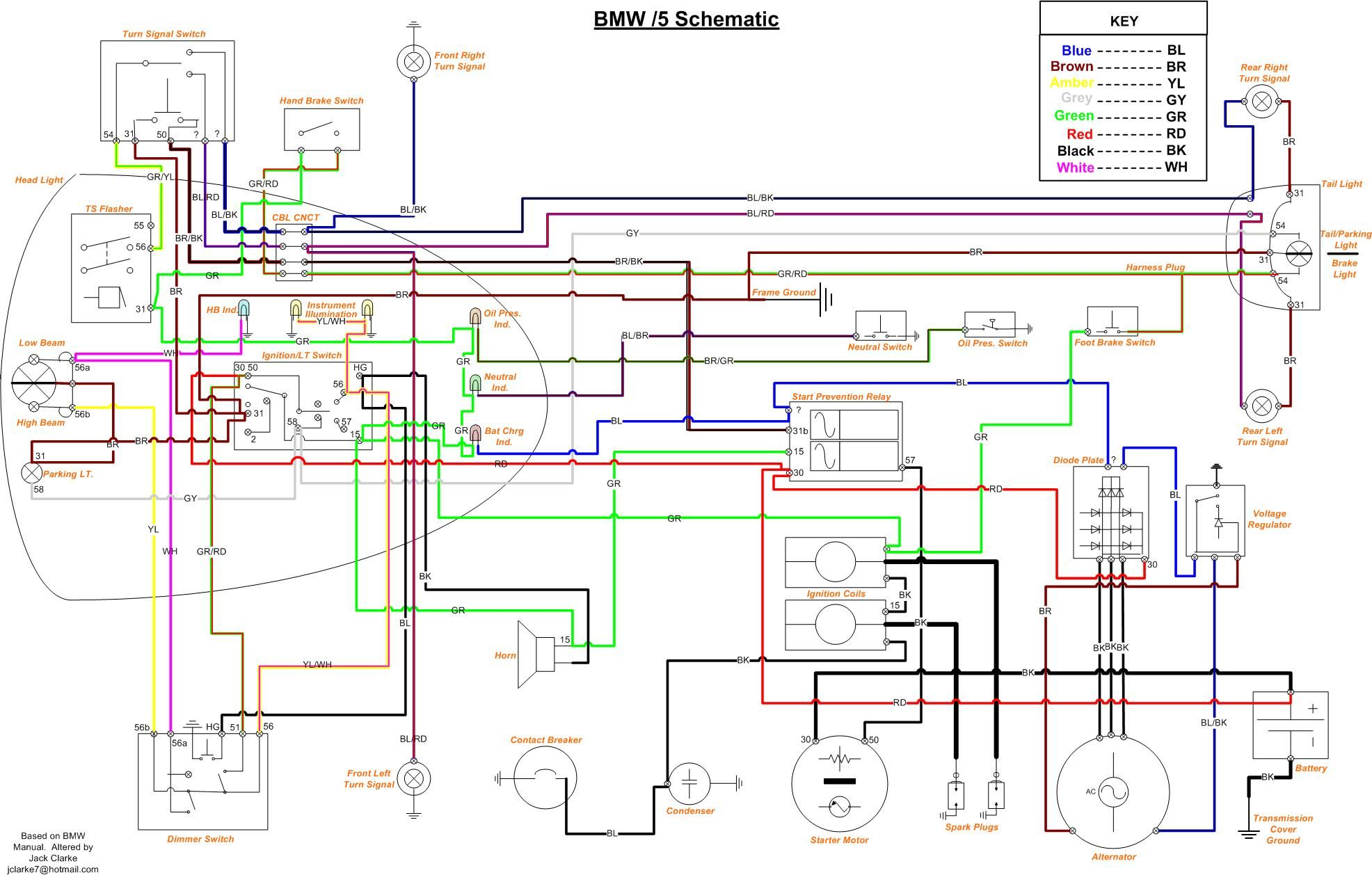 indispensable wire diagram when restoring thanks jake clarke bmw electrical wiring diagrams for dummies clarke wiring diagram [ 1972 x 1258 Pixel ]