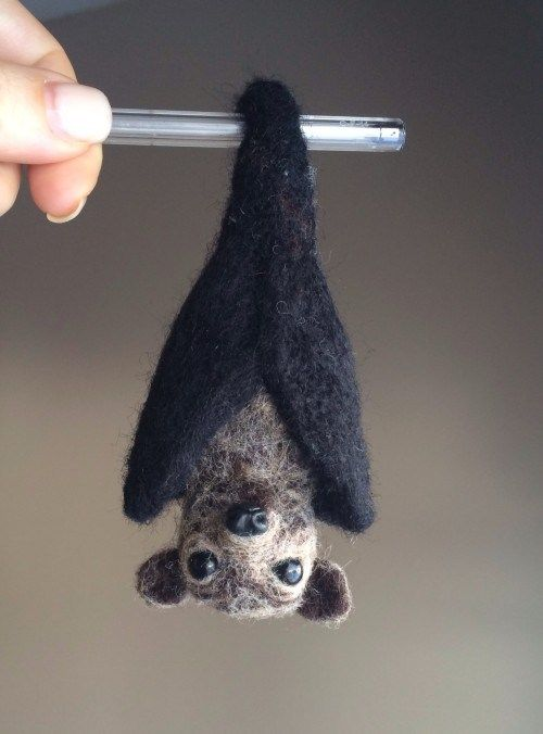 Needle Felted Bat Tutorial