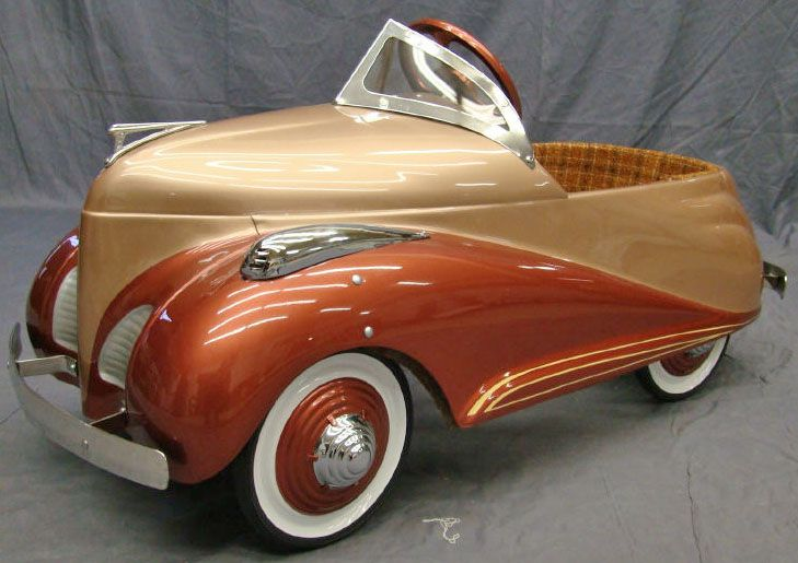 Pedal Car Steelcraft Lincoln Zephyr Scoots Pedal Cars Cars