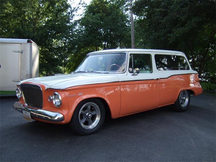 1961 Studebaker Lark Studebaker Cars Station Wagon