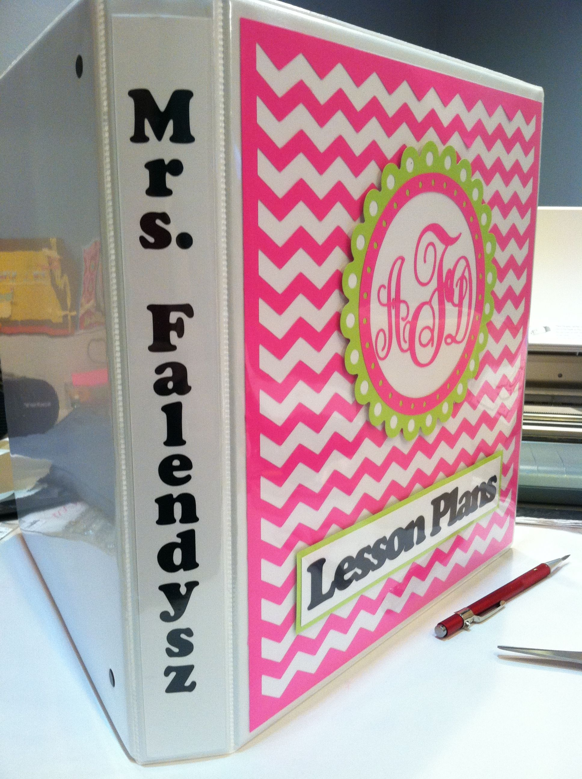 Lesson plans binder for my daughterinlaw lesson plan