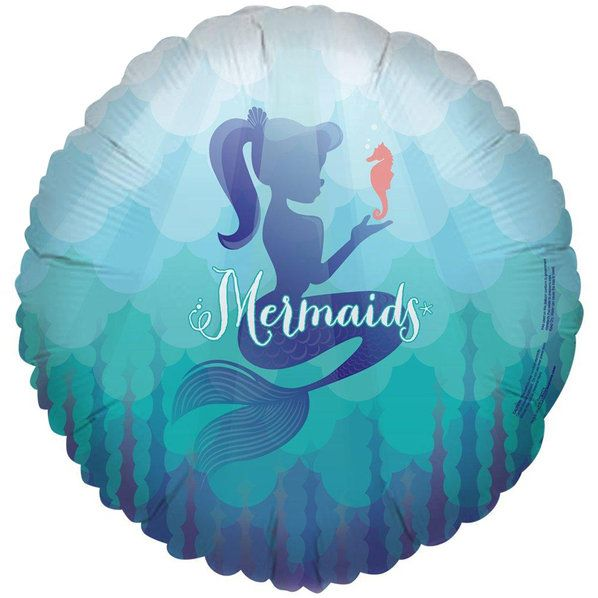 Check out Mermaids Under the Sea Foil Balloon from Wholesale Party Supplies