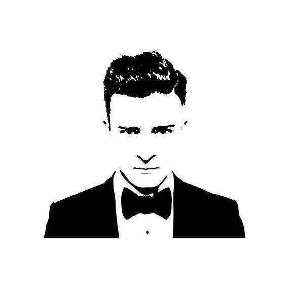 Thank You Very Much For Your Interest In Our Storefront Www Etsy Com Shop Jenilynncraftstexas Please Note That A Silouette Art Justin Timberlake Sticker Sign