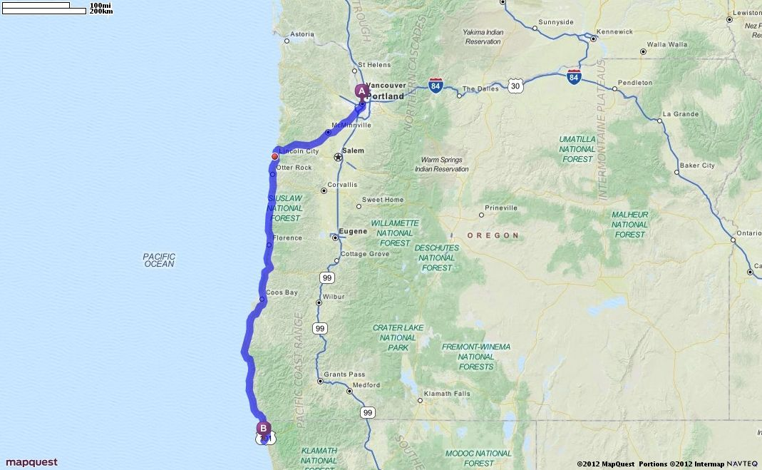 Driving Directions from Portland, Oregon to Redwood National ... on san joaquin river ca map, tucson ca map, sonora ca map, wildwood ca map, la conchita ca map, anchor bay ca map, ukiah ca map, fort bragg ca map, eureka ca map, redding ca map, redwood national park map, fresno ca map, astoria ca map, walker ca map, humboldt ca map, yreka ca map, gold beach ca map, fort tejon ca map, san francisco ca map, susanville ca map,