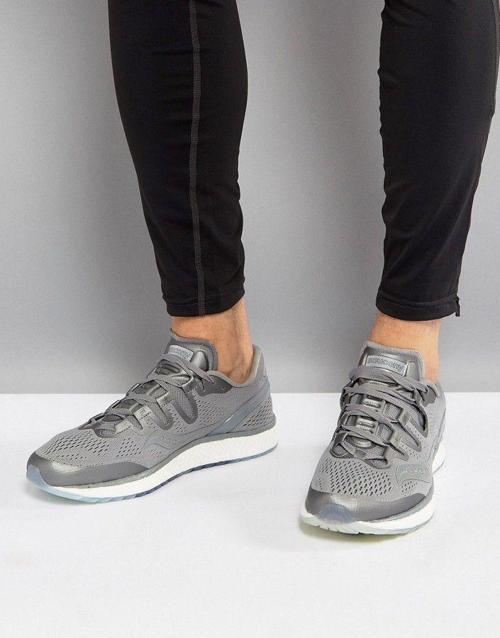 ecc6bcdec1669 Saucony Running Runlife Freedom ISO Sneakers In Gray S20355-51 ...