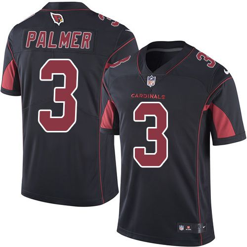 Nike Carson Palmer Limited Black Youth Jersey - NFL Arizona Cardinals  3  Rush 26f048c43