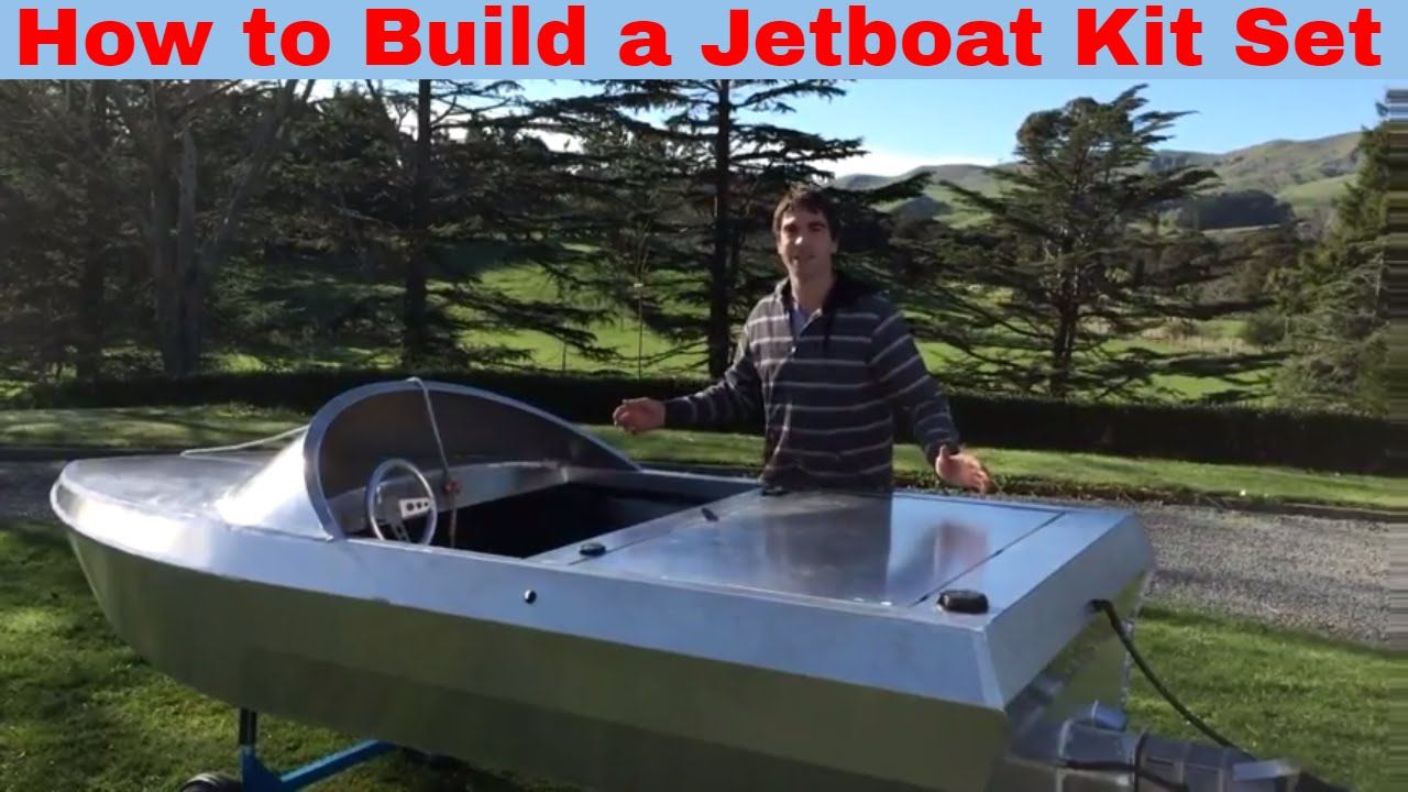 Home built jet dinghy s from new zealand boat design forums - Boat Building