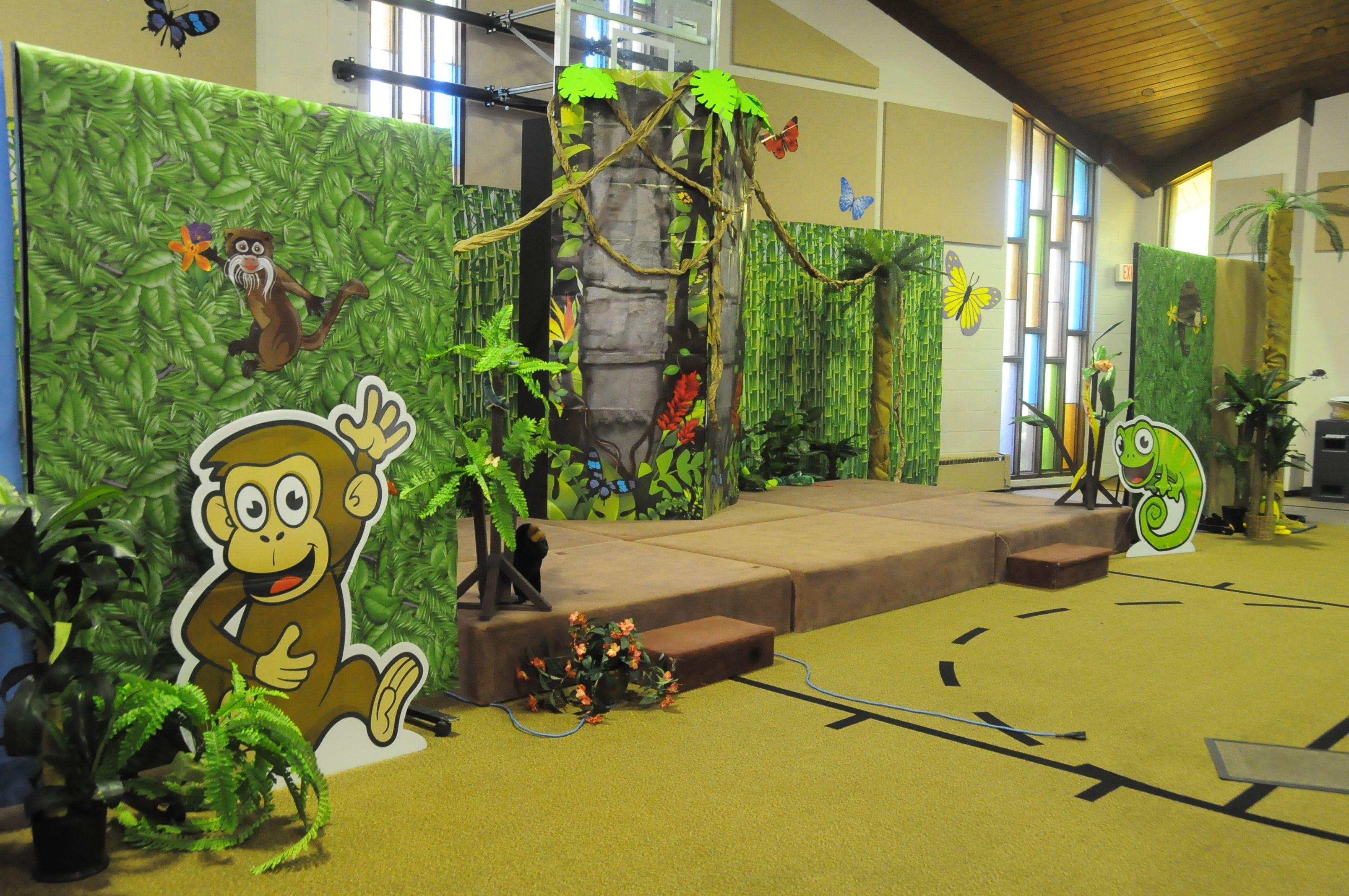 Jungle Safari VBS decorating ideas | VBS | Safari, Jungle ...