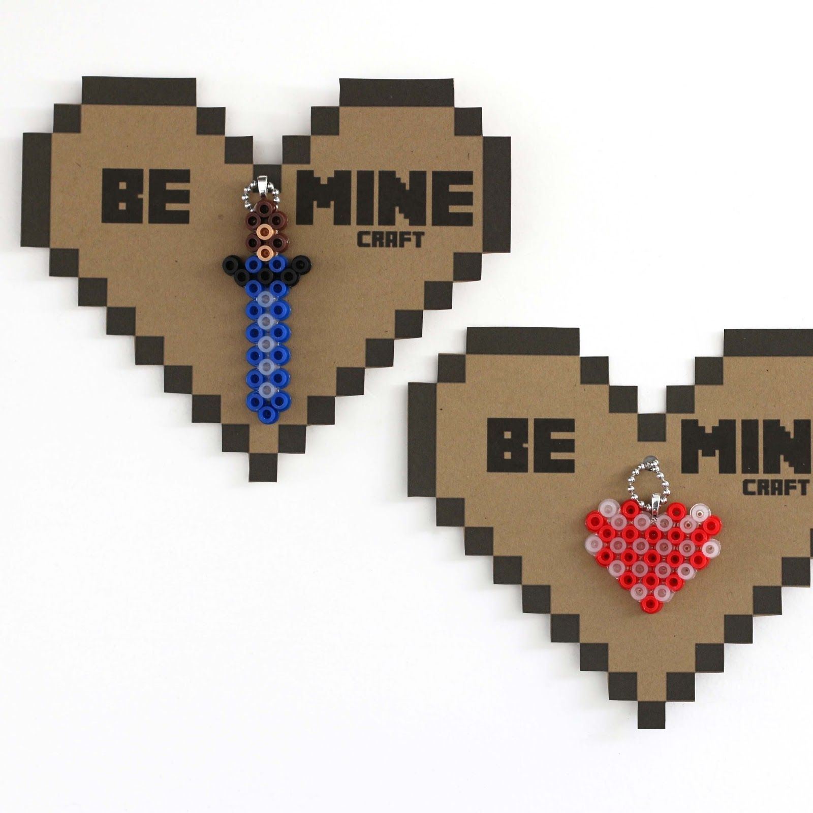 make minecraft valentines free printable valentine u0027s day
