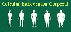Calcular Indice masa corporal
