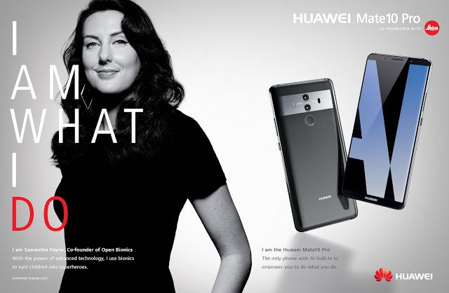 Huawei Mate 10 Pro Smartphone Highlights Entrepreneurs In Latest European Campaign By Doner London Print Ads Brand Campaign Ads Creative