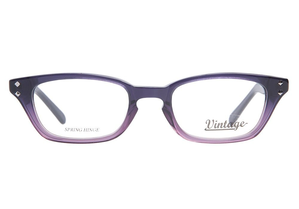 f213b40de09e These Vintage VN0100 064 Olive Clear Purple glasses are rocker-chic to a T.  With a dark purple fade to berry pink gradient frame