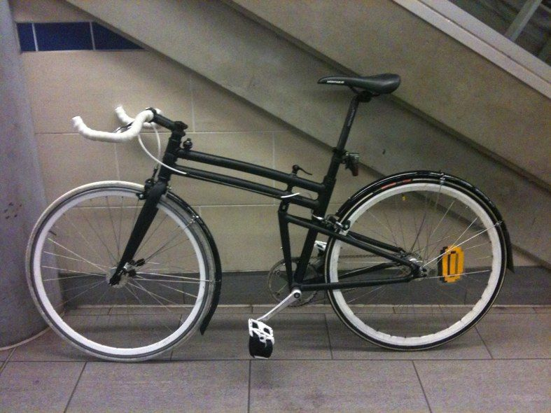 Custom Montague Boston folding bike