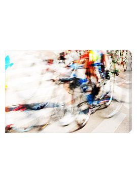 Cyclists by THEStudio (Canvas) from Photography on Gilt