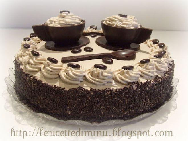 Torta al caffè con bagna al cappuccino ricetta dolci torte