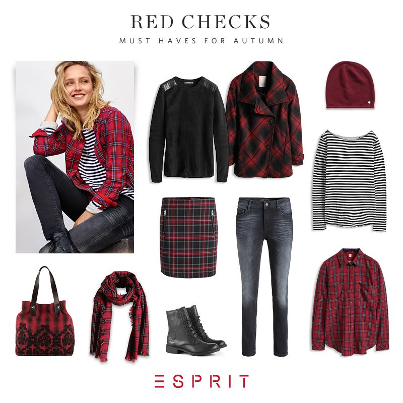 I love plaid, especially in red!!! :D