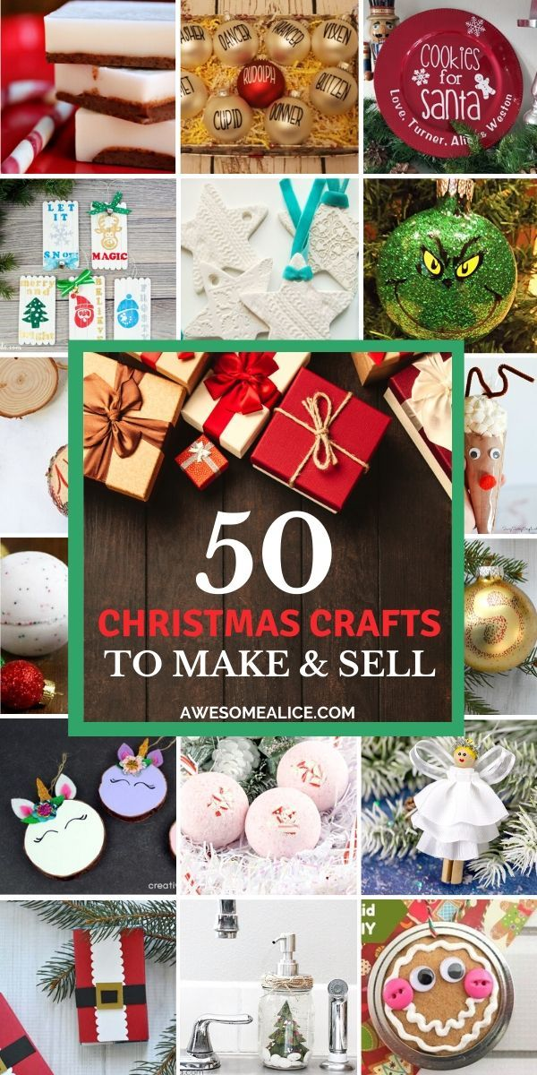 50 Christmas Crafts to Make and Sell for Profit (With